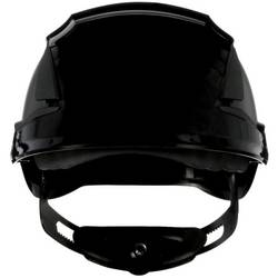 Zaštitna kaciga ventilirana, S UV senzorom Crna 3M SecureFit X5512V-CE-4 EN 397