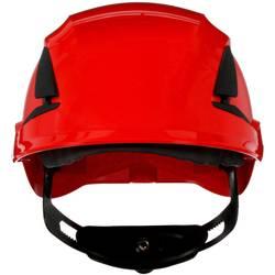 Zaštitna kaciga S UV senzorom Crvena 3M SecureFit X5505NVE-CE-4 EN 397