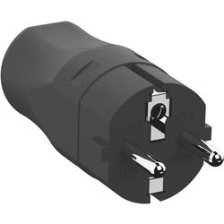 utikač sa zaštitnim kontaktom polipropilen 250 V crna ip20 Bachmann 960.101