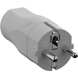 utikač sa zaštitnim kontaktom poliamid 250 V svijetlosiva (ral 7035) ip20 Bachmann 960.301