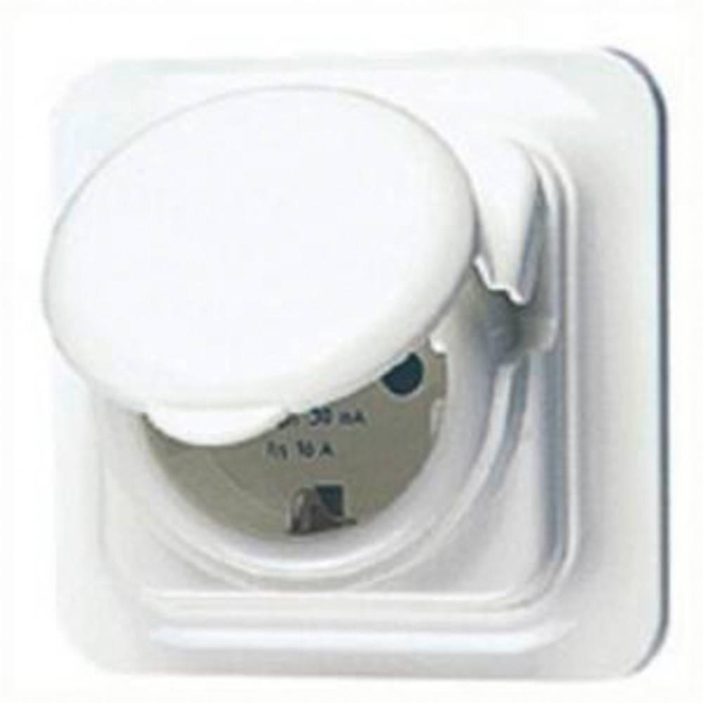 Gewiss GW95924 1 kratni podometna varnostna vtičnica ip44 bela