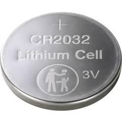 Basetech gumbasta baterija cr 2032 litijev 220 mAh 3 V 4 St.