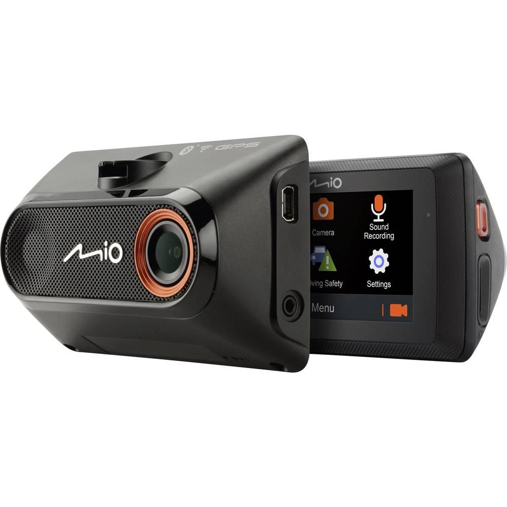 MIO Digiwalker MIVUE 788 avtomobilska kamera z gps-sistemom Razgledni kot - horizontalni=140 ° zaslon, WLAN