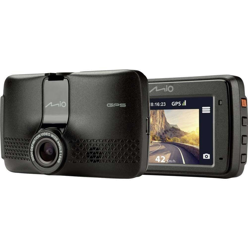 MIO MIVUE 731 Avtomobilska kamera z GPS-sistemom Razgledni kot - horizontalni=130 ° Zaslon, Opozorilo pred trčenjem