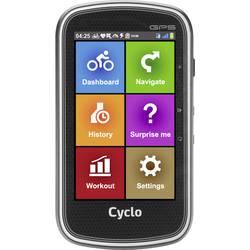 MIO Digiwalker CYCLO 405 navigacija za kolo kolesarjenje evropa zaščita pred brizganjem vode, Bluetooth®, gps