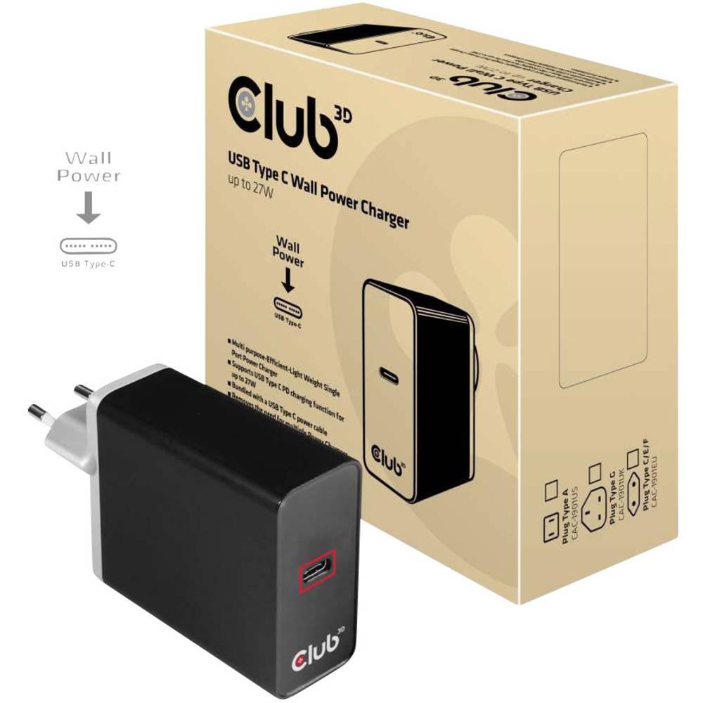 club3D CAC-1901EU USB napajalnik Vtičnica