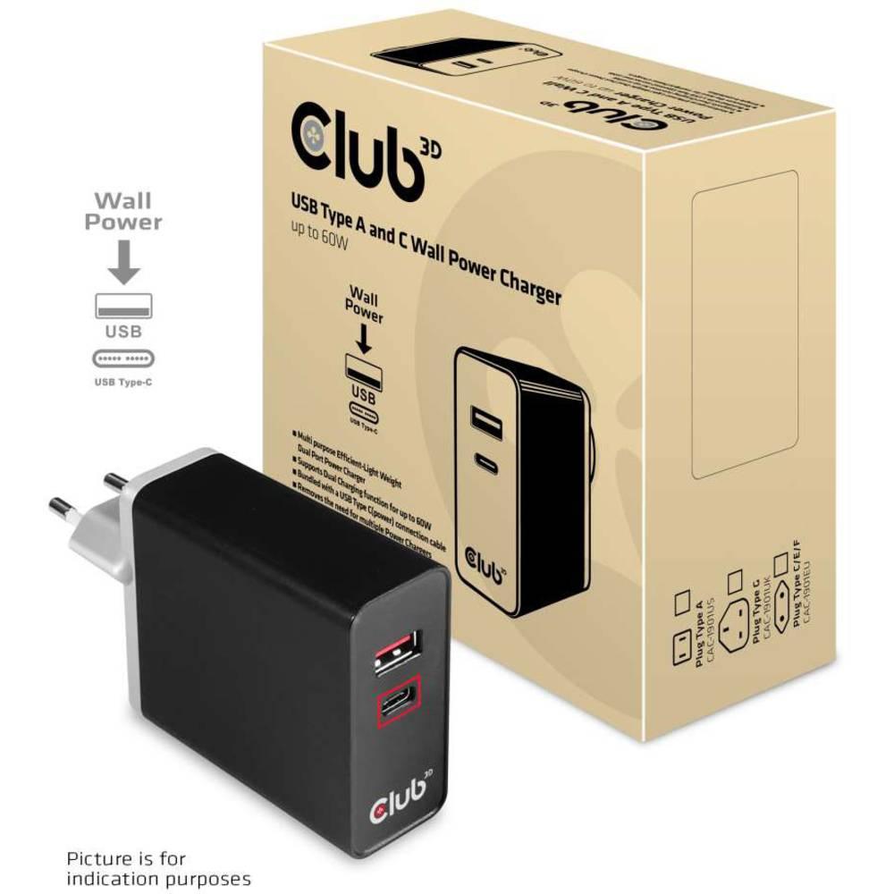 club3D CAC-1902EU USB napajalnik
