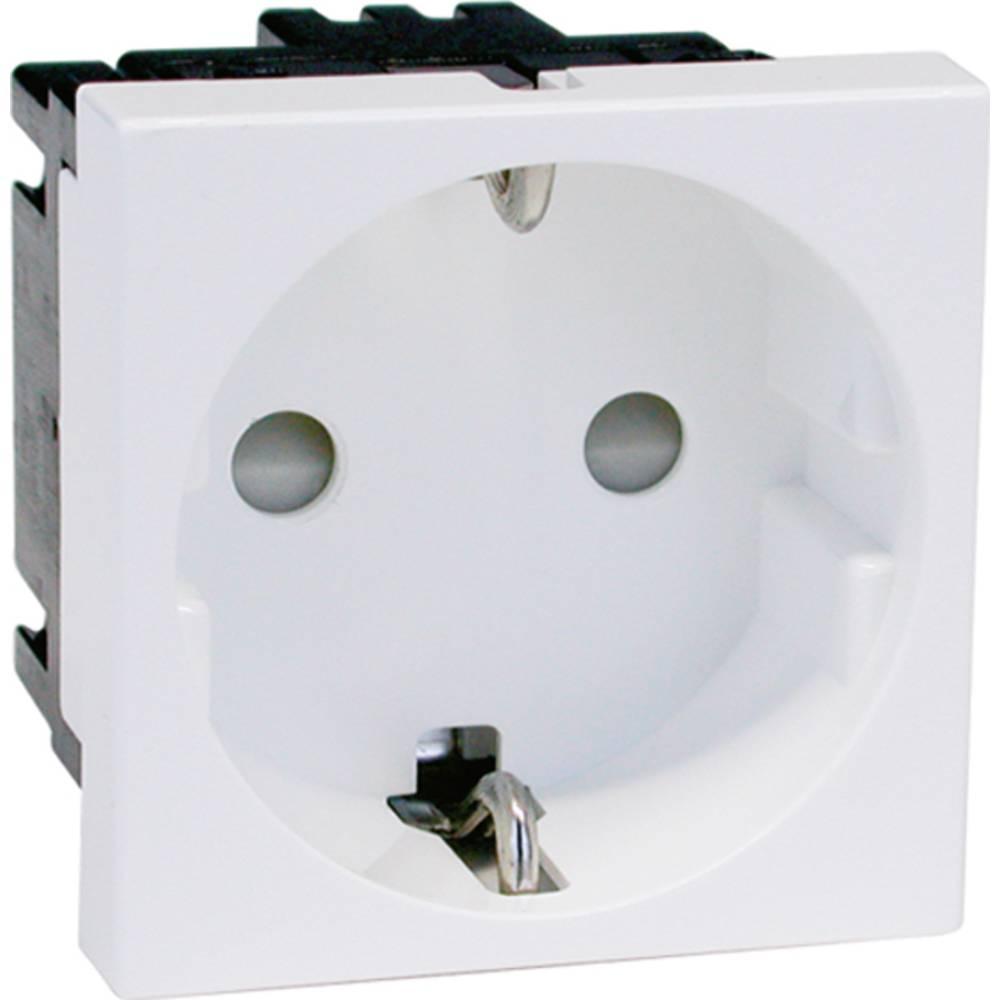 GGK 6960 zaščitna kontaktna vtičnica bela