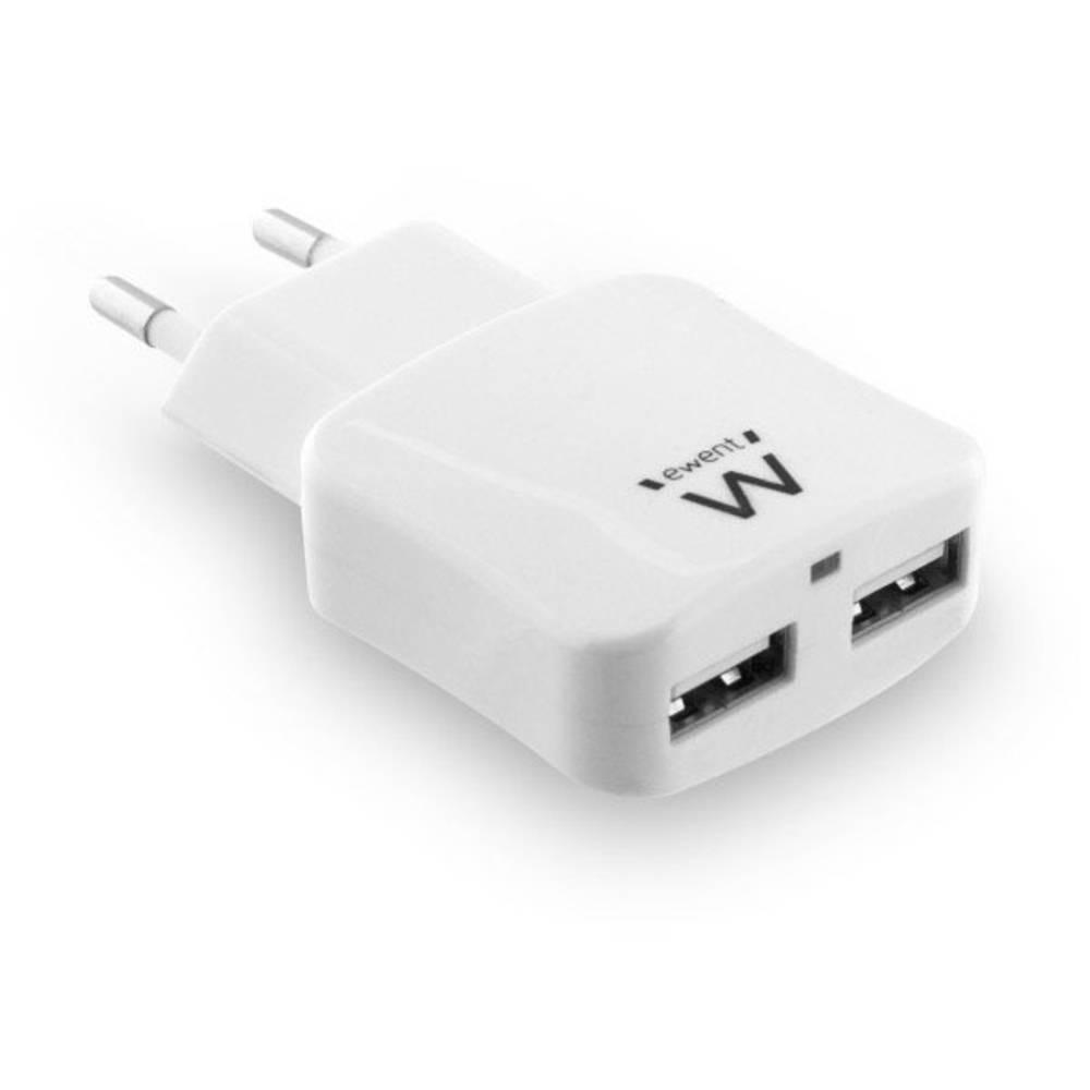 ewent by Eminent EW1302 USB napajalnik Vtičnica 2 x USB