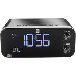Dual DAB CR 30 Black Bird radijska ura dab+, ukw usb funkcija polnjenja baterije črna