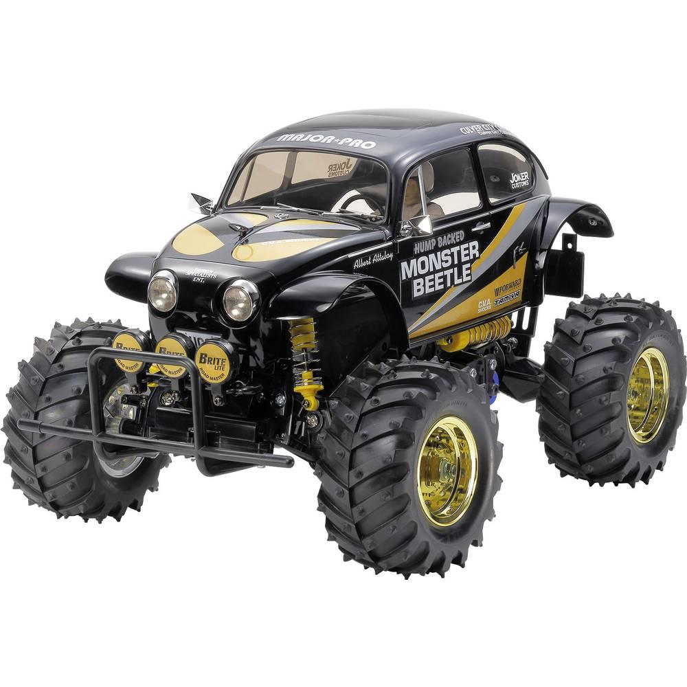 Tamiya Monster Beetle Black Edition s ščetkami 1:10 RC Modeli avtomobilov Elektro Monster Truck Zadnji pogon (2WD) Komplet za se