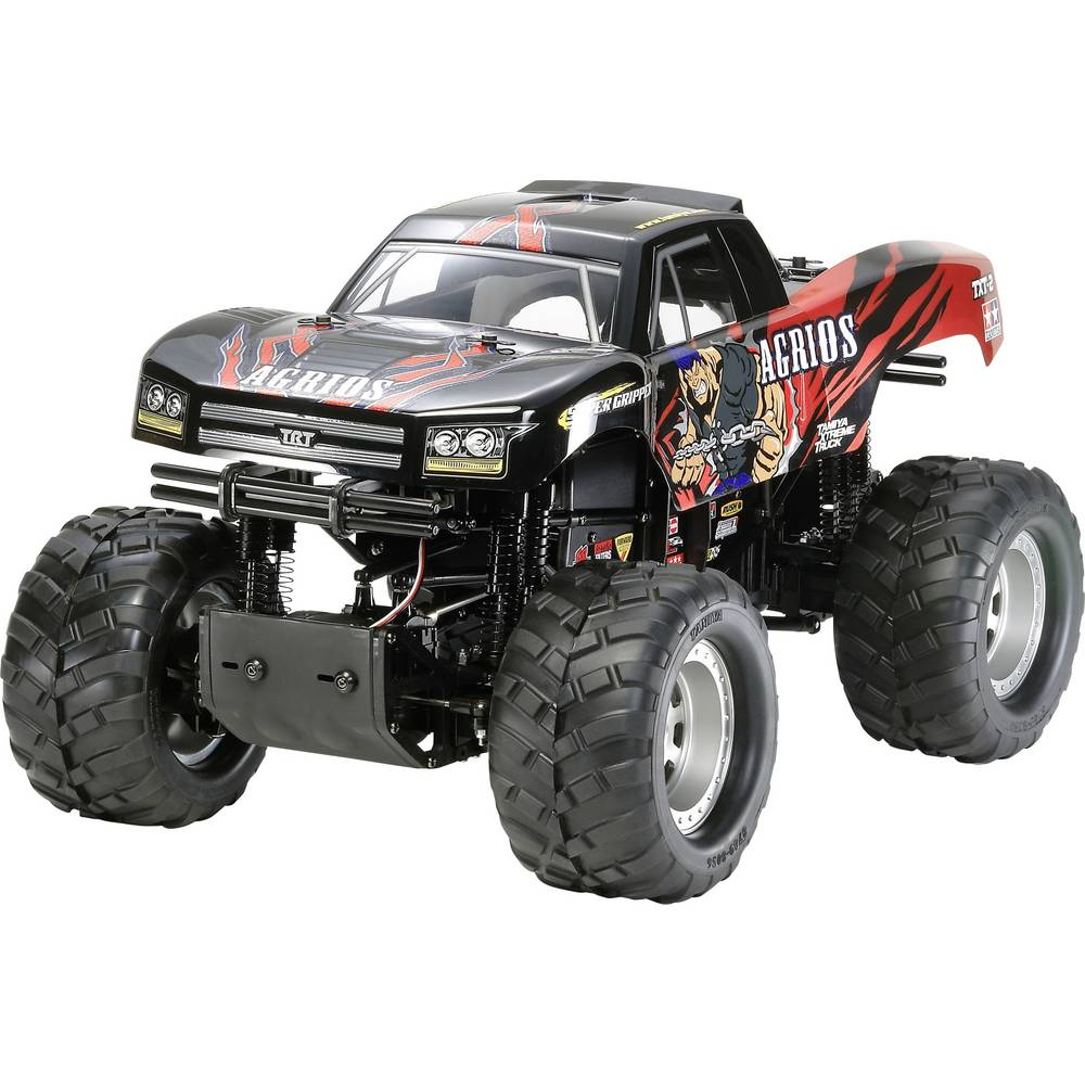 Tamiya Agrios 4x4 s ščetkami 1:10 RC Modeli avtomobilov Elektro Monster Truck Pogon na vsa kolesa (4WD) Komplet za sestavljanje
