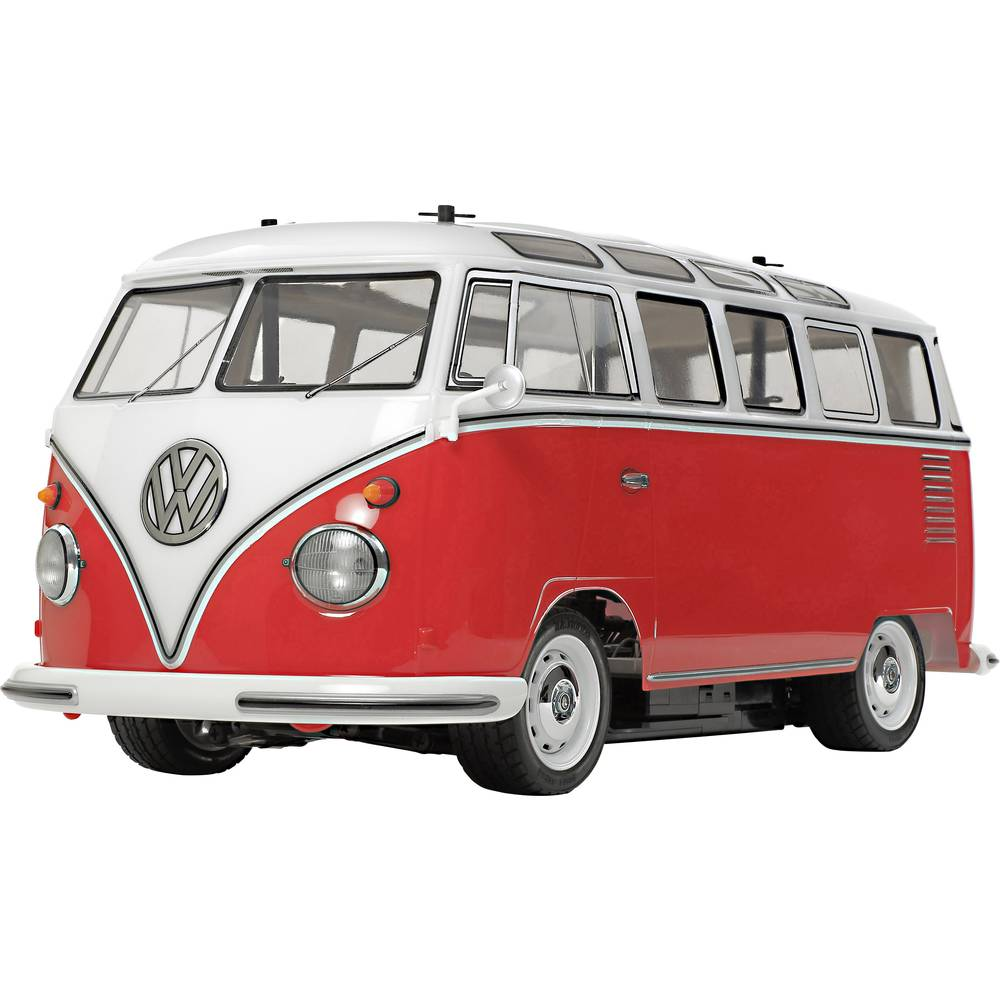 Tamiya VW Bus T1 Samba s ščetkami 1:10 RC Modeli avtomobilov Elektro Cestni model Zadnji pogon (2WD) Komplet za sestavljanje Pre
