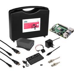 Raspberry Pi® 4 b Streaming Set 4 GB 4 x 1.5 GHz uklj. kutija za pohranu, uklj. kućište, uklj. napajanje, uklj. hladnjak, uk