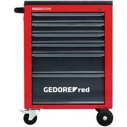 Gedore RED 3301663 Delovni voziček MECHANIC 6 predalov. 910x628x418