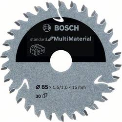 Bosch Accessories 2608837752 list krožne žage 85 x 15 mm Število zobcev (na colo): 30 1 kos