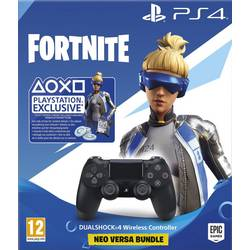 Sony DualShock 4 Wireless Controller: Fortnite Neo-Versa Igralna konzola gamepad PlayStation 4 Črna