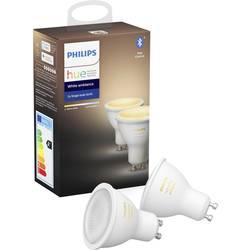 Philips Lighting Hue LED Svjetiljka, komplet 2 komada ATT.CALC.EEK: A+ (A++ - E) GU10 Bijela