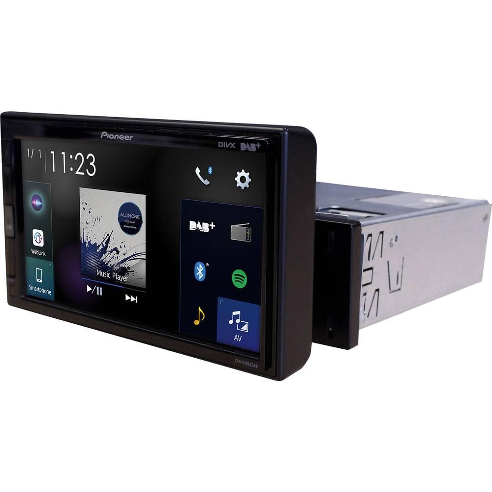 Pioneer SPH-EVO62DAB-UNI multimedijski predvajalnik DAB+ radijski sprejemnik, Bluetooth® komplet za prostoročno telefoniranj