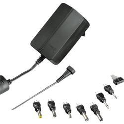 Hama 00137334 plug-in napajanje, podesivi 9 V, 12 V, 13.5 V, 15 V, 18 V, 20 V, 24 V 1500 mA 24 W