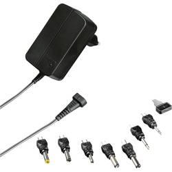 Hama 00121970 plug-in napajanje, podesivi 3 V, 4.5 V, 5 V, 6 V, 7.5 V, 9 V, 12 V 600 mA 3.6 W