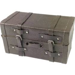 Absima 1:10 potovalni kovček usnjen videz rjava