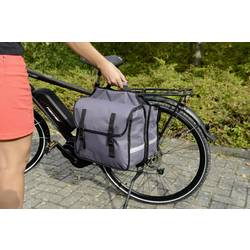 Torba za prtljažnik Fischer Fahrrad 50322 Siva
