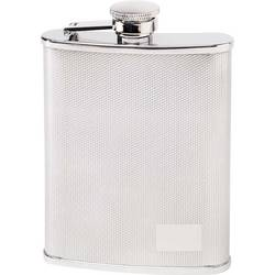 Herbertz džepna boca za piće 177 ml nehrđajući čelik 545106 Monogramm