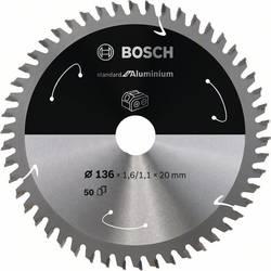 Bosch Accessories 2608837754 list krožne žage 136 x 20 mm Število zobcev (na colo): 50 1 kos