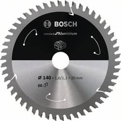 Bosch Accessories 2608837755 list krožne žage 140 x 20 mm Število zobcev (na colo): 50 1 kos
