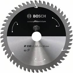 Bosch Accessories 2608837756 list krožne žage 150 x 20 mm Število zobcev (na colo): 52 1 kos