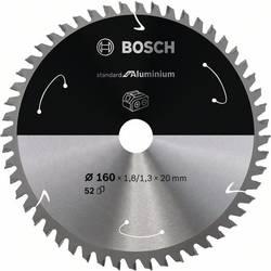Bosch Accessories 2608837757 list krožne žage 160 x 20 mm Število zobcev (na colo): 52 1 kos