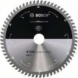 Bosch Accessories 2608837776 list krožne žage 216 x 30 mm Število zobcev (na colo): 64 1 kos