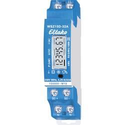Brojač za dvosmjernu struju digitalni 32 A Dozvola MID: Da Eltako WSZ15D-32A MID