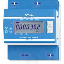 Trifazni brojač s priključkom za pretvarač digitalni 5 A Eltako DSZ15WDM-3x5A MID
