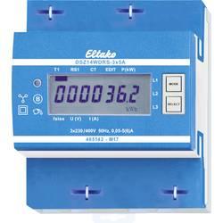 Trifazni brojač s priključkom za pretvarač digitalni 5 A Dozvola MID: Da Eltako DSZ14WDRS-3x5A MID