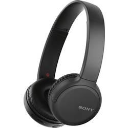 Bluetooth® on ear slušalice Sony WH-CH510 na ušima slušalice s mikrofonom, kontrola glasnoće crna