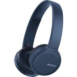 Bluetooth® on ear slušalice Sony WH-CH510 na ušima slušalice s mikrofonom, kontrola glasnoće plava boja