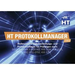 HT Instruments Protokoll-Manager HT Profesionalna programska oprema za upravljanje podatkov in protokolov za vse HT-VDE merilne
