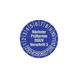 HT Instruments Prüfplaketten 30mm Varnostna inšpekcijska značka 30mm, 2002270