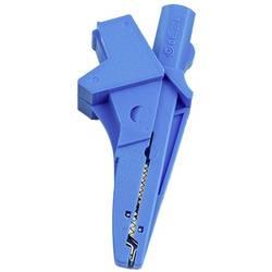 HT Instruments 5004-IECB banana vtič banana vtičnica, vtičnica 4 mm, 4 mm vtični priključek, krokodil sponka CAT III 1000 V modr