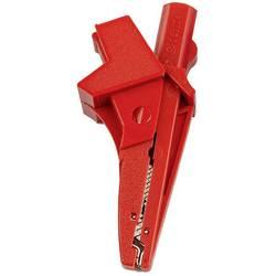 HT Instruments 5004-IECR banana vtič banana vtičnica, vtičnica 4 mm, 4 mm vtični priključek, krokodil sponka CAT III 1000 V rdeč