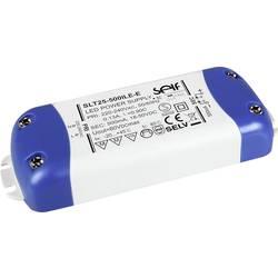 Self Electronics SLT25-500ILE-E LED-napajalnik konstantni tok 25 W 500 mA 20 - 50 V/DC brez zatemnjevanja, montaža na vnetljive