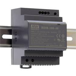 Mean Well HDR-100-12N DIN-napajanje (DIN-letva) 12 V/DC 7.5 A 90 W 1 x