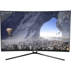 LC Power LC-M32-QHD-144-C igričarski monitor 80 cm(31.5 palec)EEK B (A++ - E) 2560 x 1440 piksel QHD 4 ms HDMI, DVI, display por