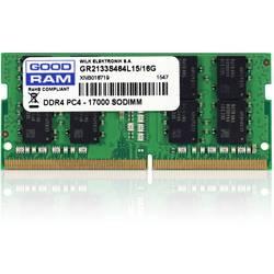 Goodram Notebook pomnilniški modul GR2133S464L15S/4G 4 GB 1 x 4 GB DDR4-RAM 2133 MHz CL15-15-15-36