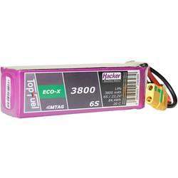 Hacker lipo akumulatorski paket za modele 22.2 V 3800 mAh Število celic: 6 20 C mehka torba xt90