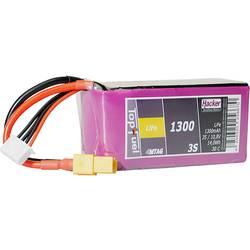 Hacker life akumulatorski paket za modele 9.9 V 1300 mAh Število celic: 3 30 C mehka torba xt60