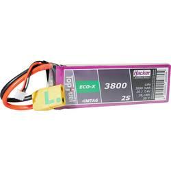 Hacker lipo akumulatorski paket za modele 7.4 V 3800 mAh Število celic: 2 20 C mehka torba xt90-s