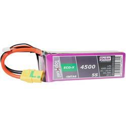 Hacker LiPo akumulatorski paket za modele 18.5 V 4500 mAh Število celic: 5 20 C Mehka torba XT90